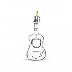 Kytara k vymalování