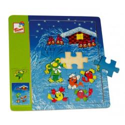 Puzzle mini 1 obrázek - Rákosníček