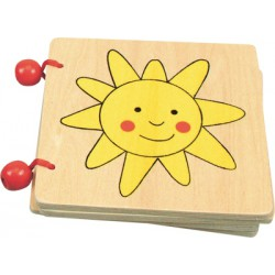 Dřevěná knížka - Domov