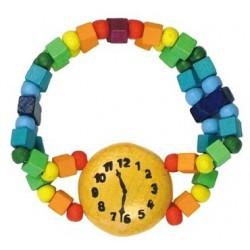 Dětský náramek hodinky duhové