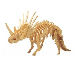 3D Puzzle - Styracosaurus