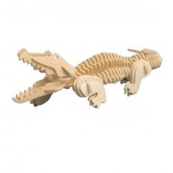 3D Puzzle - Krokodýl