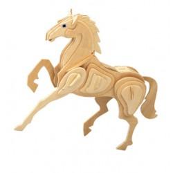 3D Puzzle - Kůň přírodní
