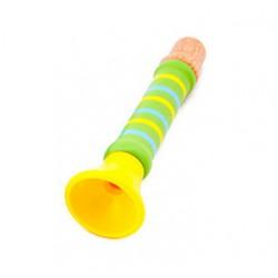 Dřevěná píšťalka - zelená