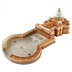 3D Puzzle - Bazilika svatého Petra