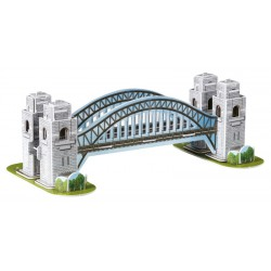 3D Puzzle - Sydney Harbour most