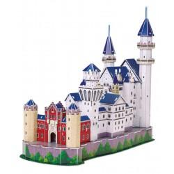 3D Puzzle - Zámek Neuschwanstein