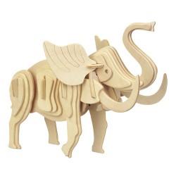 3D Puzzle - Slon přírodní