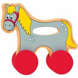 Koník na kolečkách s držadlem