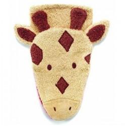 Mycí žínka pro děti – malá žirafka