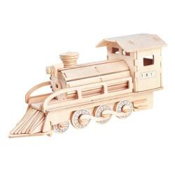 3D Puzzle - Lokomotiva
