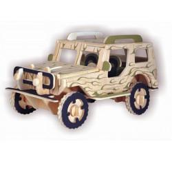 3D Puzzle - Jeep