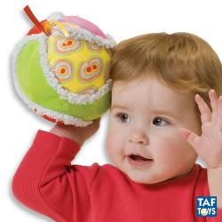 Taf Toys hračka na kočárek míč žlutozelený