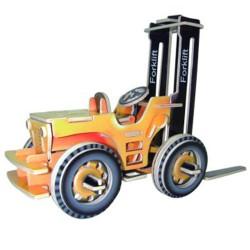 3D Puzzle - Vysokozdvižný vozík