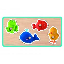 Vkládací puzzle - Zvířátka