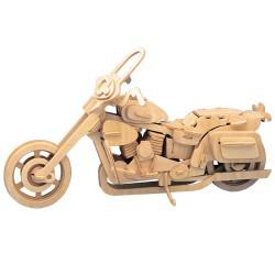 3D Puzzle - Motorka Harley - Davidson