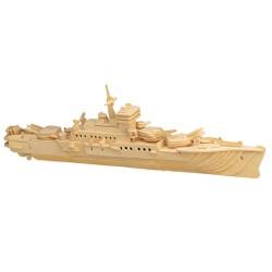 3D Puzzle - Loď křižník