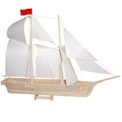 3D Puzzle - Loď škuner