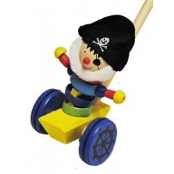 Tlačící hračka - Pirát