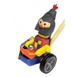 Tlačící hračka - Zbojník