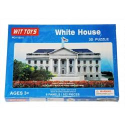 3D Pěnové puzzle - Bílý dům