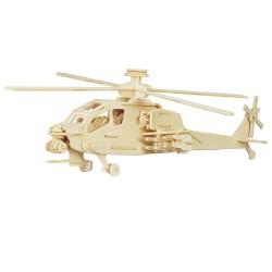 3D Puzzle - Vrtulník Apache