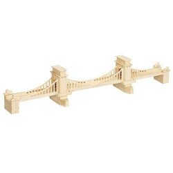 3D Puzzle - Manhattan Bridge most