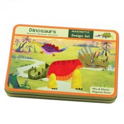 Magnetické puzzle - Dinosauři