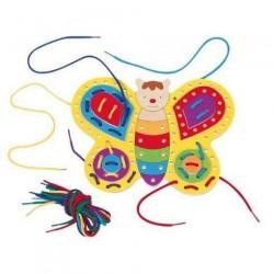 Provlékací hračka – Motýlek