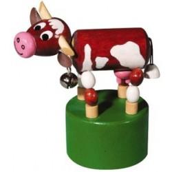 Mačkací figurka Kráva s rolničkou