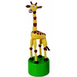 Mačkací figurka Žirafa safari