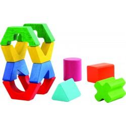 Geometrické tvary barevné