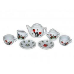 Porcelánové nádobíčko pro panenky Krteček, menší