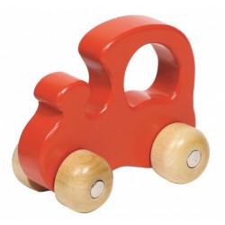 Červená mašinka