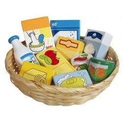 Dětský krámek – miniatury potravin a potřeb, 10 ks