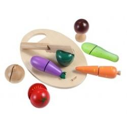 Krájecí zelenina na prkýnku