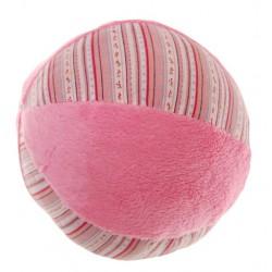 Balónek s chrastítkem – růžový