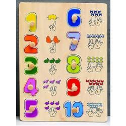 """Puzzle """"123"""""""