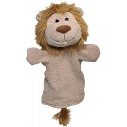 Maňásek na ruku plyš – lev