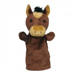 Maňásek na ruku plyš – kůň