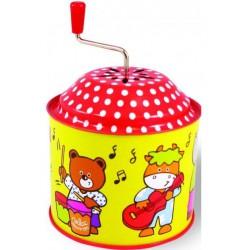 Muzikální hrací skříňka - Zvířátka