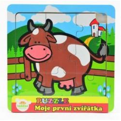 Puzzle mini Moje první zvířátka - Kravička