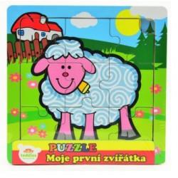 Puzzle mini Moje první zvířátka - Ovečka