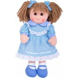 Látková panenka Amelia 35 cm