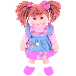 Látková panenka Melody 35 cm