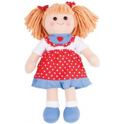 Látková panenka Emily 35 cm