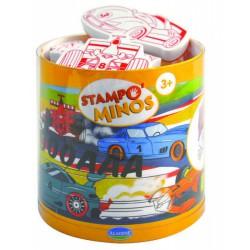 Dětská razítka velká Závodní auta