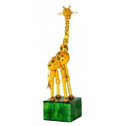 Mačkací figurka Žirafa Johana