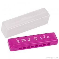 Foukací harmonika s plastovým ochranným obalem