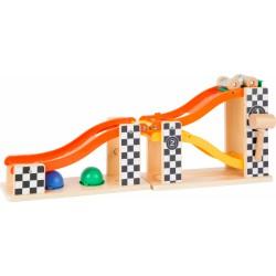 Small Foot Zatloukací kuličková dráha Rally